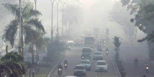 Meski Diguyur Hujan Deras, Dua Daerah di Riau Masih Diselimuti Asap