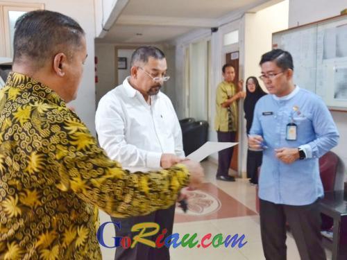 Wagubri Sidak, Hampir Setengah ASN yang Bekerja di Badan Penghubung Pemprov Riau Jakarta Bolos Kerja Hari Ini