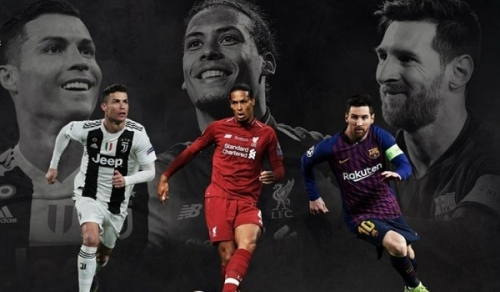 Van Dijk, Ronaldo dan Messi Masuk Nominasi UEFA Player of the Year