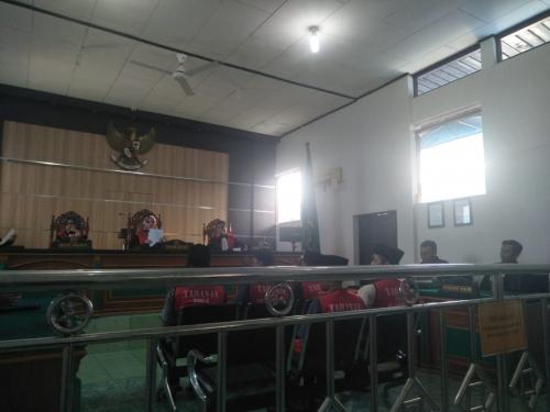Tersandung Kasus 37 Kg Sabu, Mantan Sipir Lapas Bengkalis Dituntut Mati
