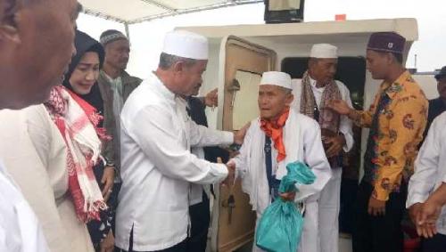 81 Jamaah Haji Asal Kepulauan Meranti Tiba di Kampung Halaman