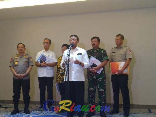 Soal Karhutla, Wiranto Ingatkan Pemerintah Daerah Jangan Tergantung Pusat