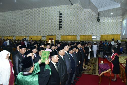 45 Anggota DPRD Bengkalis Resmi Dilantik, 24 New Comer