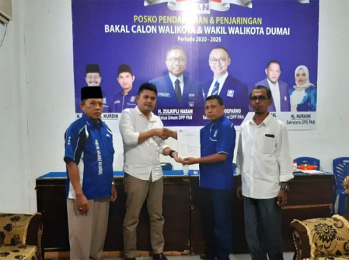 Hanafi Atan Siap Tinggalkan Jabatan Camat Bathin Salopan Kabupaten Bengkalis