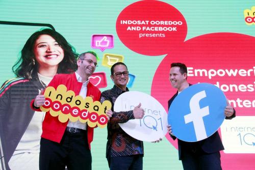 Berikan Edukasi Berbasis Teknologi Digital, Indosat Ooredoo dan Facebook Luncurkan Kampanye Internet 1O1