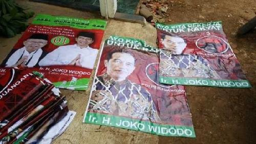 Alat Peraga Kampanye Ditemukan di Mesjid Garut, Maruf Amin Mengaku Belum Dapat Laporan