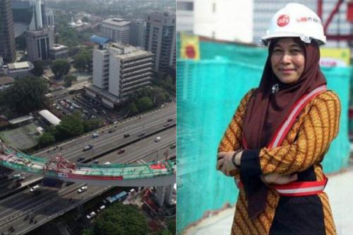 Perancang Jembatan Padamaran dan Perawang Riau Ini, Sukses Rancang Jembatan Lengkung LRT Jakarta Sepanjang 148 Meter