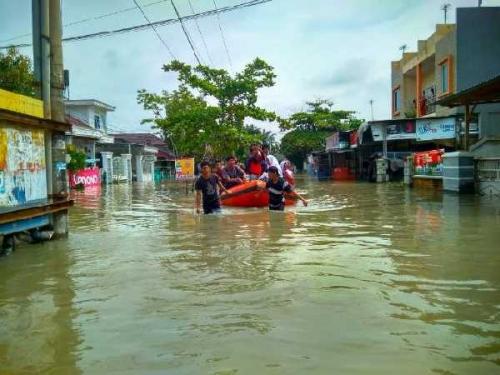 Evaluasi BMKG Pusat, Potensi Banjir Masih Tinggi di Riau, Warga Diminta Waspada