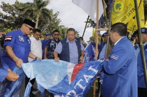 Kasus Perusakan Ribuan Bendera di Pekanbaru, Demokrat Klaim Dapatkan Bukti Kuat Adanya Campur Tangan Kekuasaan