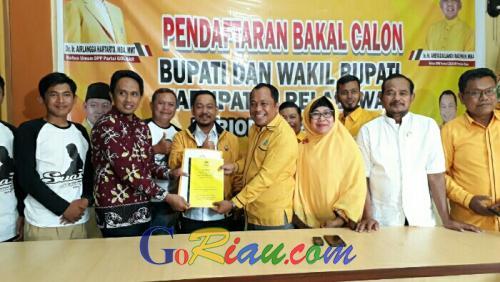 Usai Mendaftar di Partai Sendiri, Ketua DPD Golkar Pelalawan Terima Politisi PKS