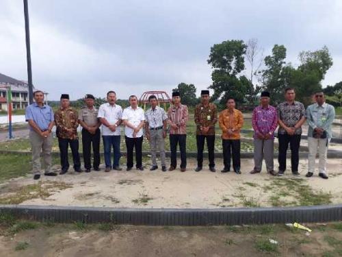 Puji Pembangunan RTH PTPN V Lubuk Dalam, Syamsuar: Ini Bisa Dimanfaatkan Masyarakat