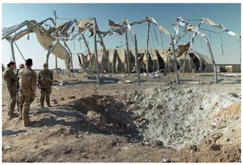 Serangan Rudal Iran Lukai 11 Tentara Amerika Serikat di Irak