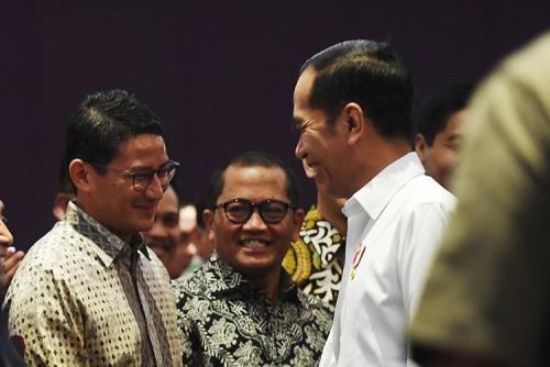 Disebut Jokowi Calon Kuat Penggantinya 2024, Begini Tanggapan Sandiaga Uno