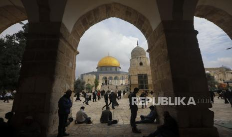 Polisi Israel Kembali Halangi Muslim Palestina Shalat di Masjid Al Aqsa