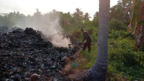 Polemik Sampah di TPA Gogok, DLH Meranti Ngaku Jadi Dilema