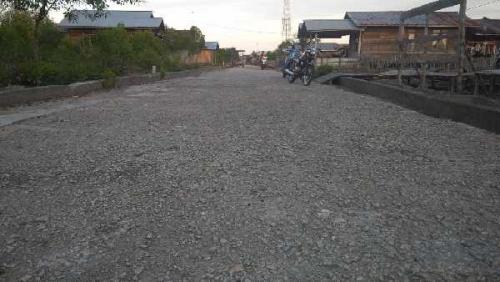 Sering Banjir saat Air Pasang, Jalan Nusa Indah Kampung Baru Segera Diperbaiki