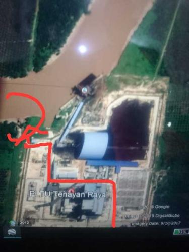 Mayat Tanpa Identitas di Sungai Siak Hebohkan Warga di Seputaran PLTU Tenayan Raya