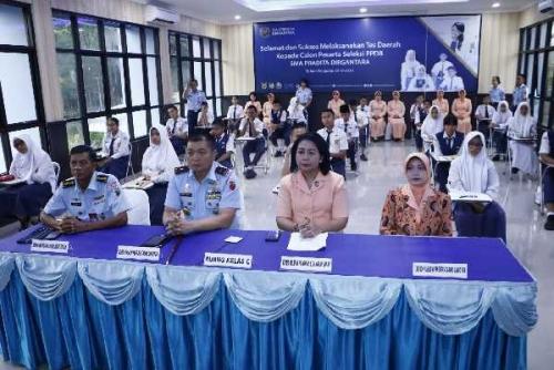 65 Calon Siswa-siswi yang Telah Verifikasi Ikuti Tes Seleksi Daerah PPDB SMA Pradita Dirgantara