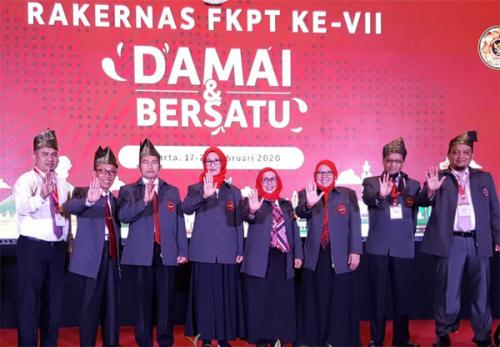 32 FKPT se-Indonesia Dilantik Kepala BNPT, FKPT Riau Dipimpin Dinawati