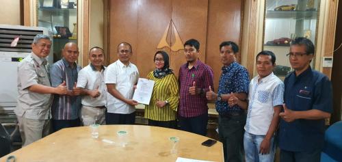 Novrizon Burman Pimpin SMSI Riau Periode 2020-2025