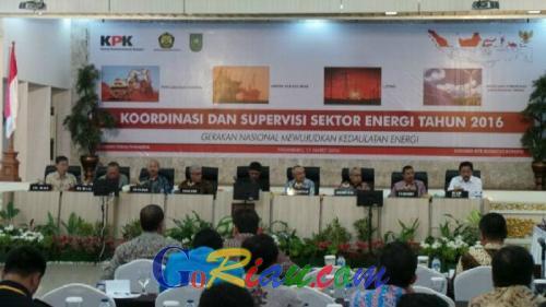 Bahas Masalah Sektor Energi, KPK bersama 4 Gubernur Ngumpul di Kediaman Plt Gubri