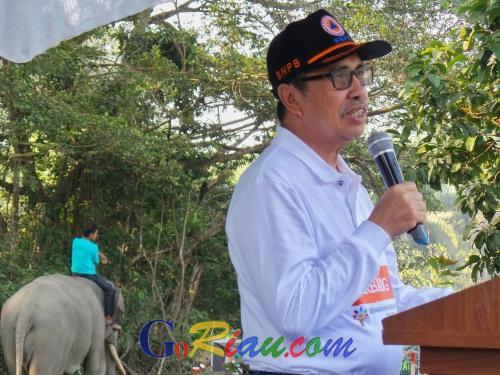 Gubri Syamsuar Ajak Masyarakat Riau Jaga Lingkungan Hijau yang Sehat