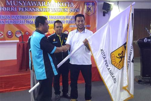Anggota DPRD Pekanbaru Firmansyah Terpilih Aklamasi Pimpin FORKI Kota