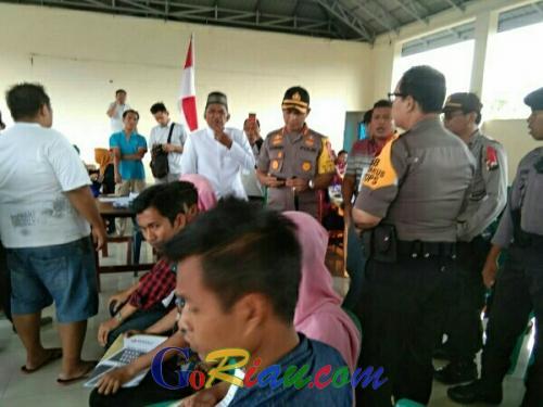 Tak Tersedia Tinta, Pencoblosan TPS di Pelalawan Sempat Ricuh