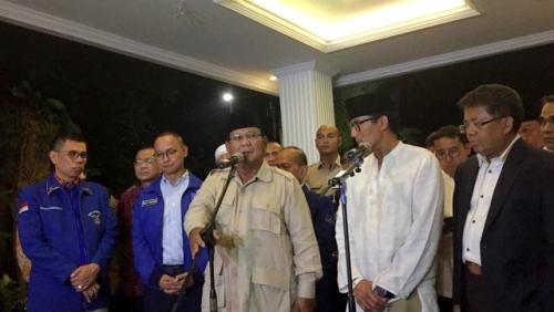 Prabowo-Sandi Menang Telak di TPS Tempat Gubernur NTB Mencoblos