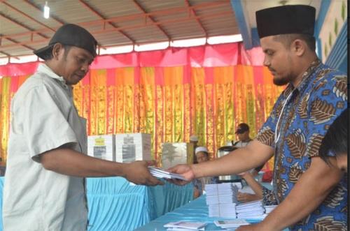 Bawaslu Minta KPUD Dumai Fasilitasi Kekurangan Kertas Suara Pemilu Serentak 2019 di Sejumlah TPS di Kota Dumai