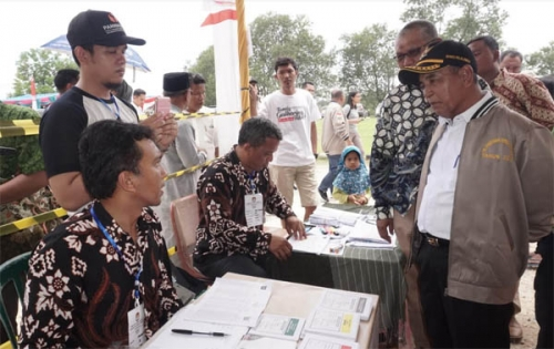 Ribuan Warga Riau Kompleks Antusias Ikut Pemilu