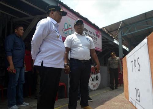 Wakil Gubernur Riau Tinjau Pelaksanaan Pemilu di Rutan Dumai