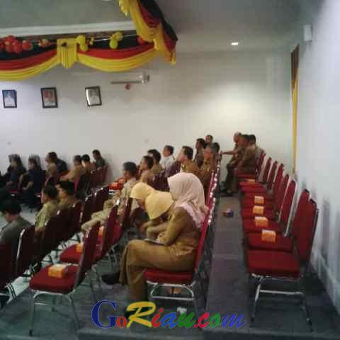 Sebelum Paripurna LKPj AMJ, Sukarmis Absen Para Kepala Dinas