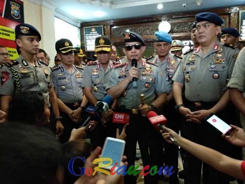 8 Orang Ditangkap di Riau Pasca Serangan Terduga Teroris di Mapolda, Kapolri: Jaringan Berkaitan dengan JAD