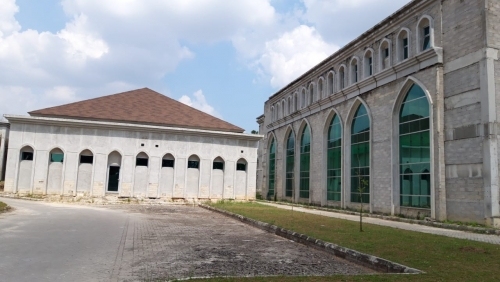 Sempat Terhenti, Pembangunan Empat Gedung Pendukung RSD Madani Diperkirakan Selesai Akhir Tahun