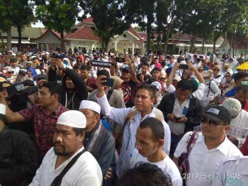 Gerakan Masyarakat Menuntut Keadilan Curiga Ada Kecurangan Pemilu, Ketua KPU Riau: Kami Bekerja Sesuai Prosedur