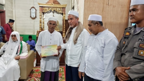 Wabup Said Hasyim Ajak Masyarakat Makmurkan Masjid