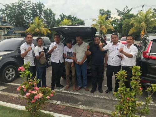 Polres Bengkalis Berhasil Tangkap Tiga Napi Rutan Sungai Penuh Jambi yang Kabur dari Tahanan