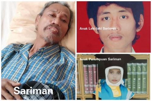 Tujuh Tahun Terpisah, Sariman Pasien RSUD Mandau Tak Tahu Keberadaan Anaknya