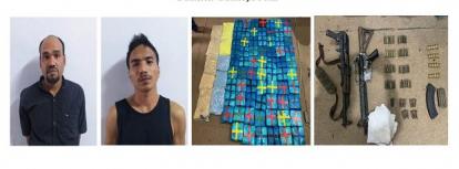 Polisi Ringkus Bandar Narkoba Bersenjata AK47 dan M16, Barang Bukti 89 Kg Sabu