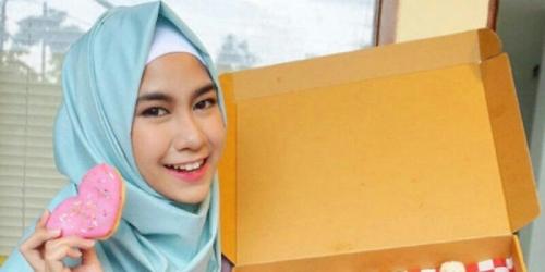 Berhijab, Anisa Rahmah Cherrybelle Terlihat Makin Cantik