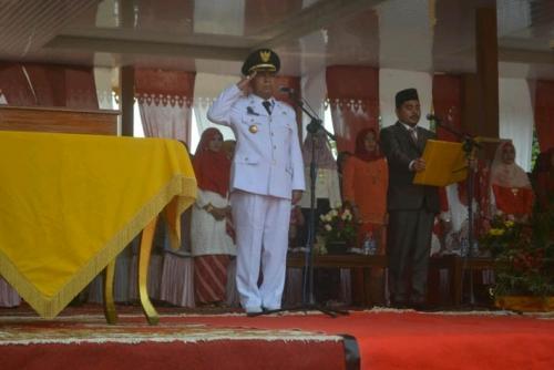 Rangkaian Peringatan HUT RI ke-70 di Kabupaten Pelalawan