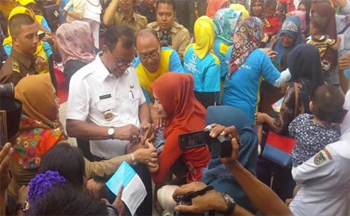 63.463 Anak Balita Sudah Mendapatkan PIN Polio
