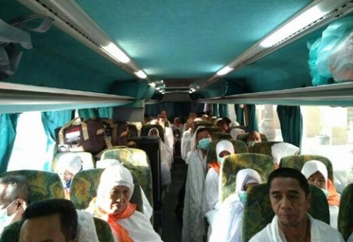 JCH Asal Meranti Bergerak Menuju Mekkah
