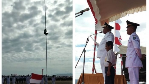 Panjat Tiang Bendera Agar Merah Putih Berkibar, Bocah Joni Kala Dianggap Selamatkan Wajah NKRI di Batas Timor Leste