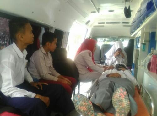 Sejumlah Peserta Upacara HUT RI di Pelalawan Jatuh Pingsan