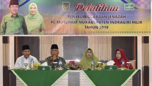 Hindarkan Remaja dari Perbuatan Negatif, Muslimat NU Inhil Gelar Pelatihan Keagamaan