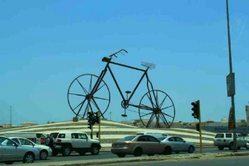 Misteri Sepeda Nabi Adam di Tengah Kota Jeddah Akhirnya Terungkap, Ternyata dari Indonesia