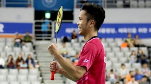 Anthony Ginting Juara Korea Terbuka 2017