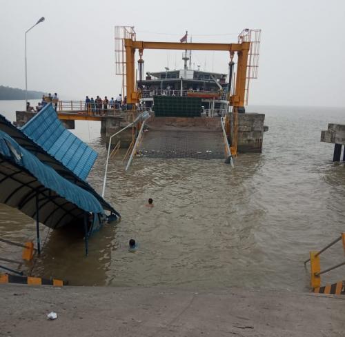 Pelayanan Penyeberangan RoRo di Tanjung Buton Riau Lumpuh, Ini Rutenya